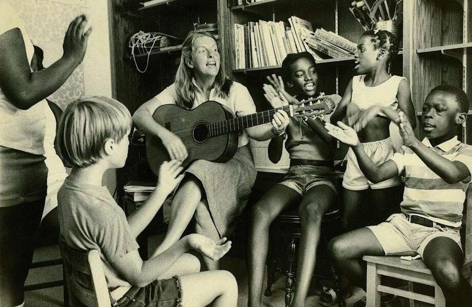 Cathy Mishkin, Horizons music director, Junior Program 1977. Photo: Contributed Photo