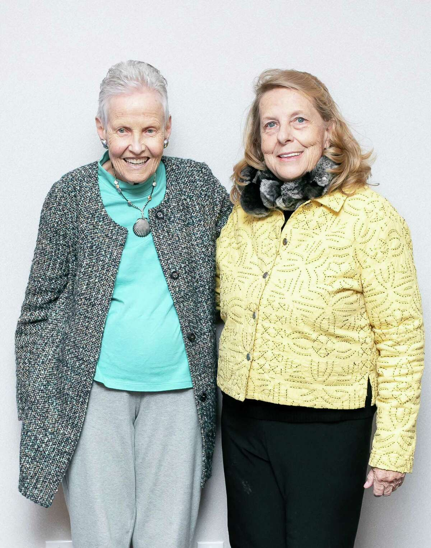 Lyn McNaught, Horizons former executive director; Cathy Mishkin, Horizons music director, Junior Program.