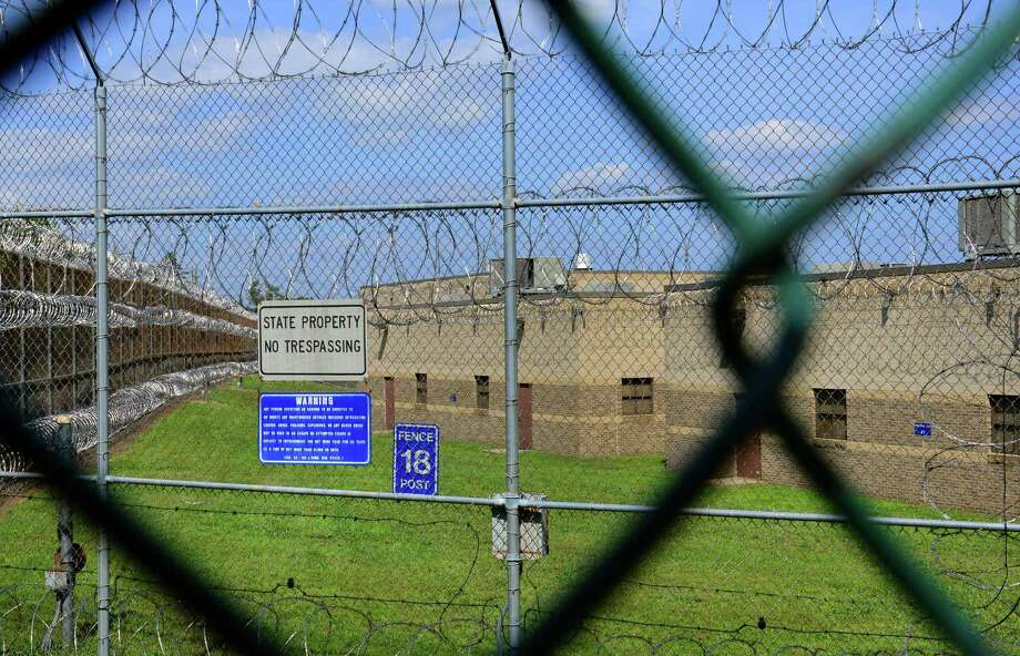 A view of a part of the Bridgeport Correctional Center located on North Avenue in Bridgeport, Conn., on Friday July 10, 2015. The BCC is a high-security facility which houses about 950 inmates. Due to a decline in the prison population, the Connecticut Department of Correction with be closing down the center's Fairmont Unit. Photo: Christian Abraham / Hearst Connecticut Media / Connecticut Post