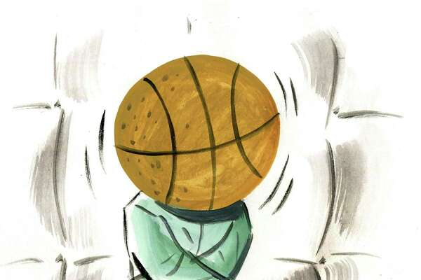 Illustration of March Madness being cancelled due to coronavirus