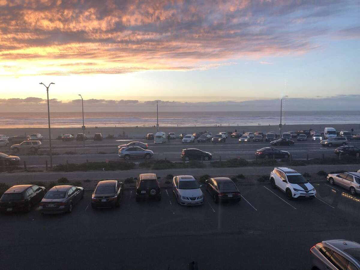 The parking lots at Ocean Beach and Beach Chalet will be closed in response to the Coronavirus shelter-in-place order to avoid crowding and promote social distancing.
