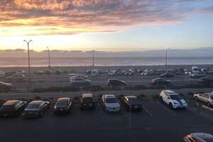 The parking lots at Ocean Beach and Beach Chalet will be closed i n response to the Coronavirus   shelter-in-place order to avoid crowding and promote social distancing.