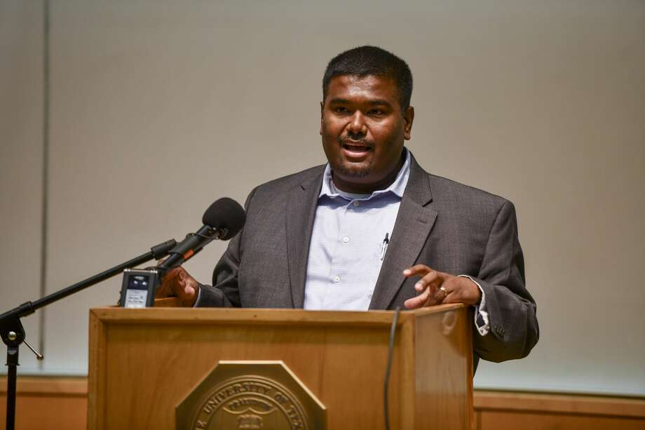 FILE PHOTO: Chief Medical Officer of Odessa Regional Medical Center Dr. Rohith Saravanan talks during a press conference on Tuesday, March 24, 2020 at the University of Texas Permian Basin library. Photo: Jacy Lewis/Reporter-Telegram