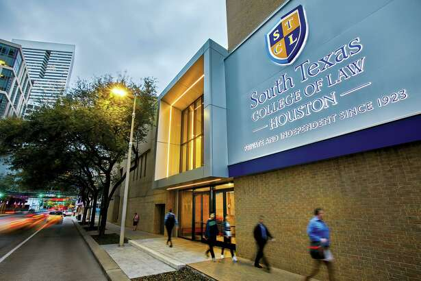 """Of the 900-plus students at South Texas College of Law Houston, about 24% are """"non-traditional,"""" meaning they have full-time jobs and are taking classes on a part-time basis at night."""