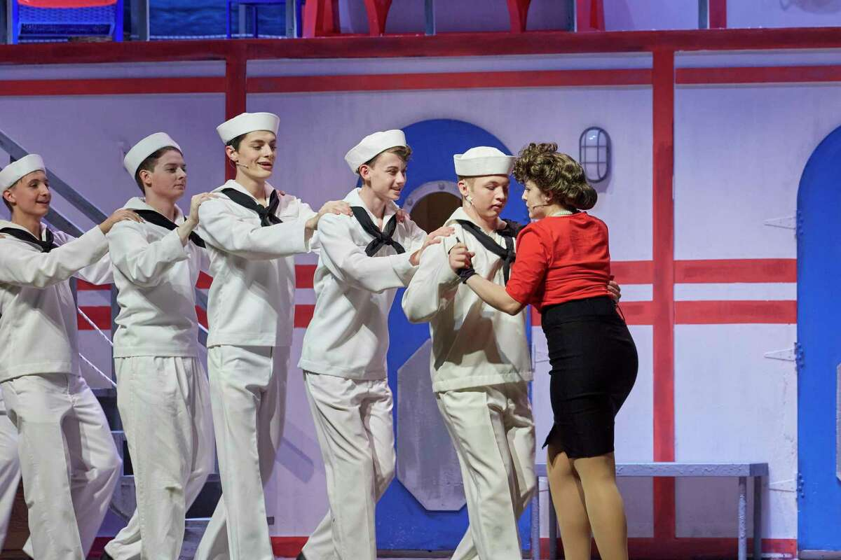"""Sara Rodriguez has been nominated for a Tommy Tune Award in the supporting actress category for Pearland High School's production of """"Anything Goes."""" The show received eight nominations."""