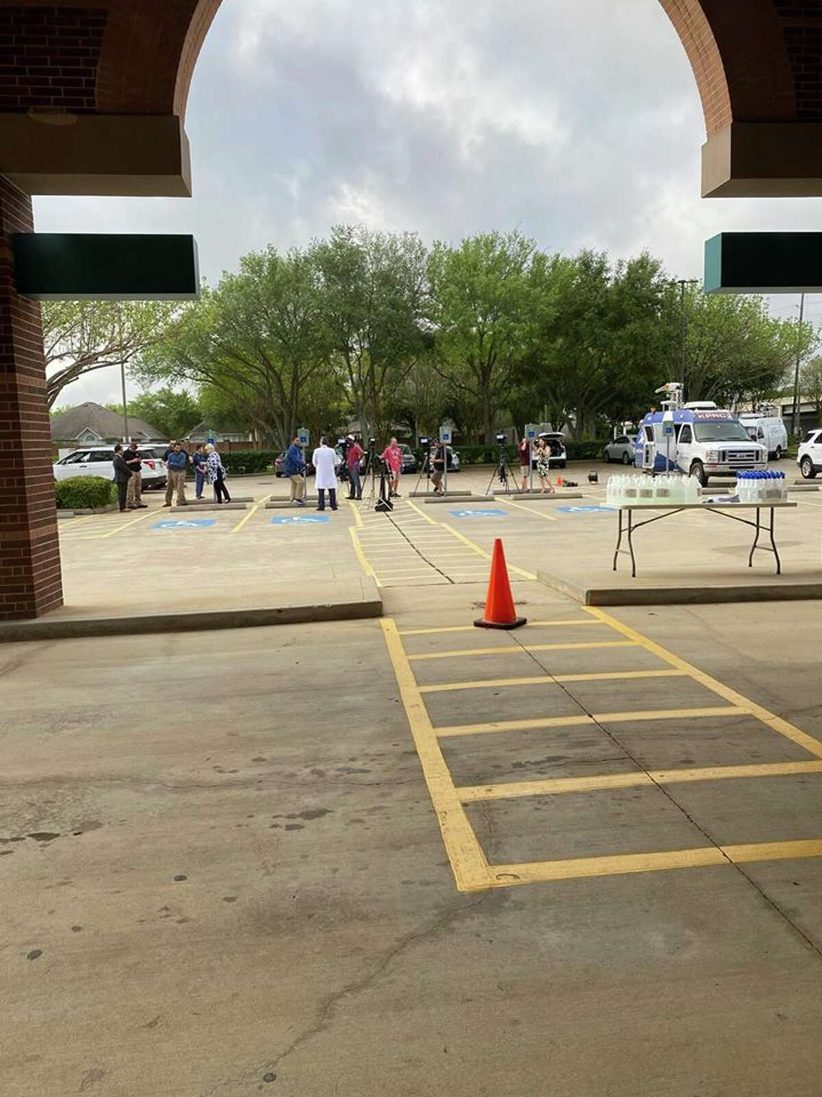 PHOTOS: Houston life during a pandemicThe Oakbend Medical Center in Fort Bend County has opened a private, drive-thru COVID-19 testing site.>>>See more for what life in Houston during the coronavirus pandemic looks like...