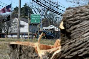 A plot of land on Western Avenue near Rapp Road is being cleared for construction of a planed Costco store on Friday, March 27, 2020, in Guilderland, N.Y. Pyramid Management, owners of nearby Crossgates Mall, want to build the region's first Costco, though it is unclear if the project has approval from the town. (Will Waldron/Times Union)