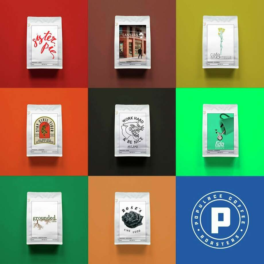 Populace Coffee of Bay City hopes to provide support to other small businesses that are facing closures due to the COVID-19 pandemic through custom-branded bags of coffee. (Photo provided/Populace Coffee)