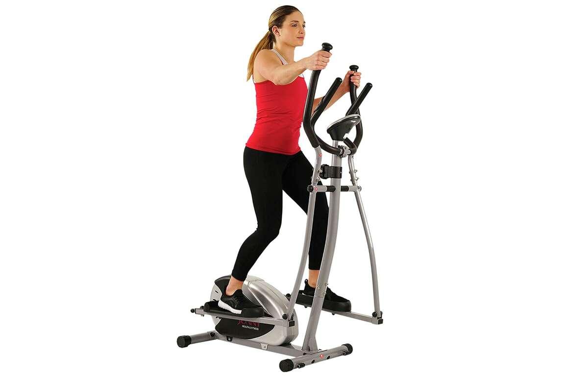 Sunny Health & Fitness SF-E905 Elliptical Machine Cross Trainer, $152.44