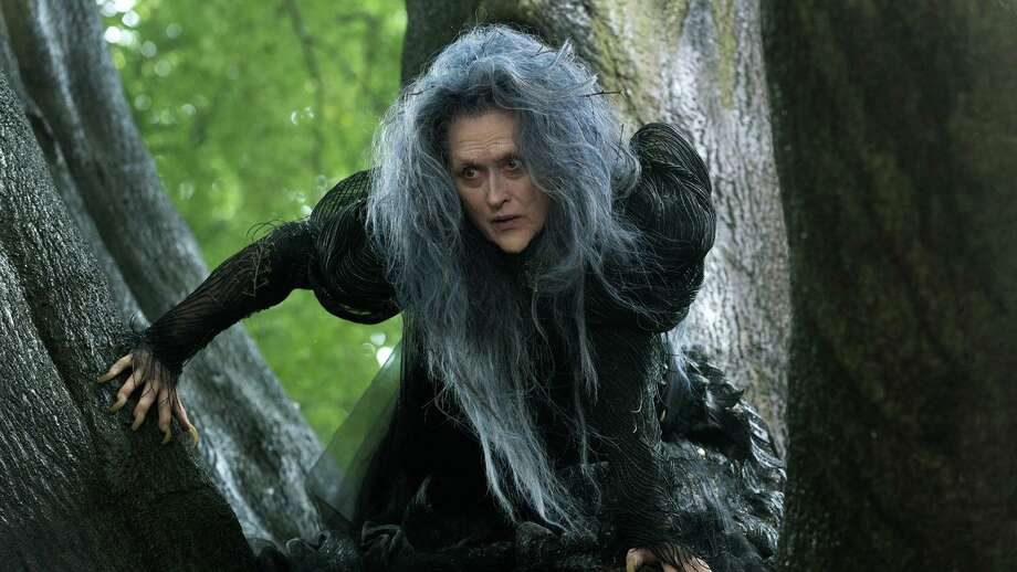 "Meryl Streep in ""Into the Woods."" Photo: Contributed Photo / Contributed Photo / ©2013 Disney Enterprises, Inc. All Rights Reserved."