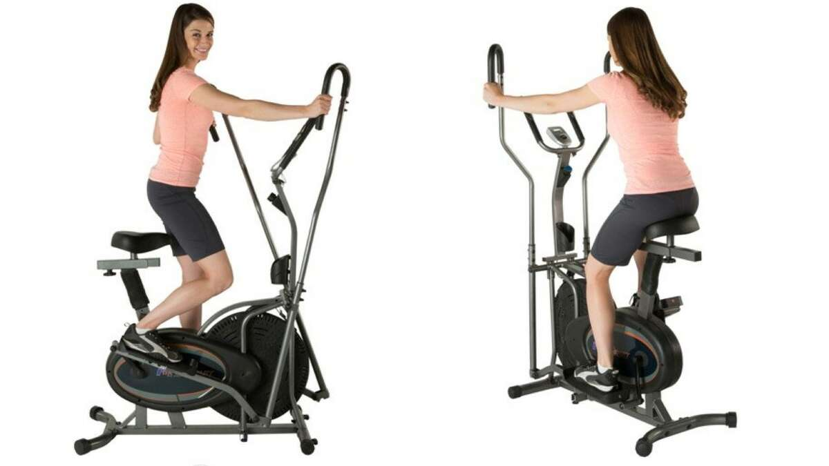 Fitness Reality E3000 2-In-1 Air Elliptical/Exercise Bike, $179.99