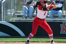 SEMO senior Rachel Anderson in action for the Redhawks last season. Anderson is taking a redshirt this season after the coronavirus outbreak wiped out the season.