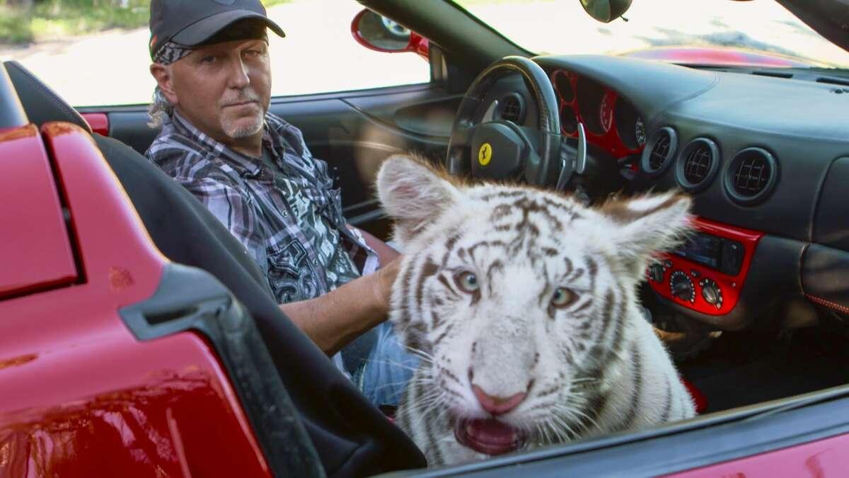 Jeff Lowe in Netflix's Tiger King: Murder, Mayhem and Madness.