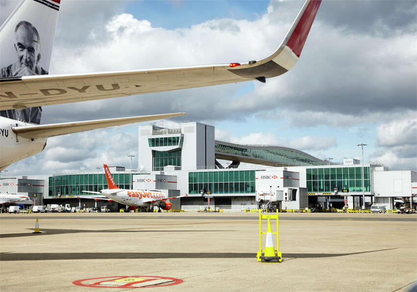 London Gatwick closed one of its terminals and is limiting flight operations to eight hours a day.