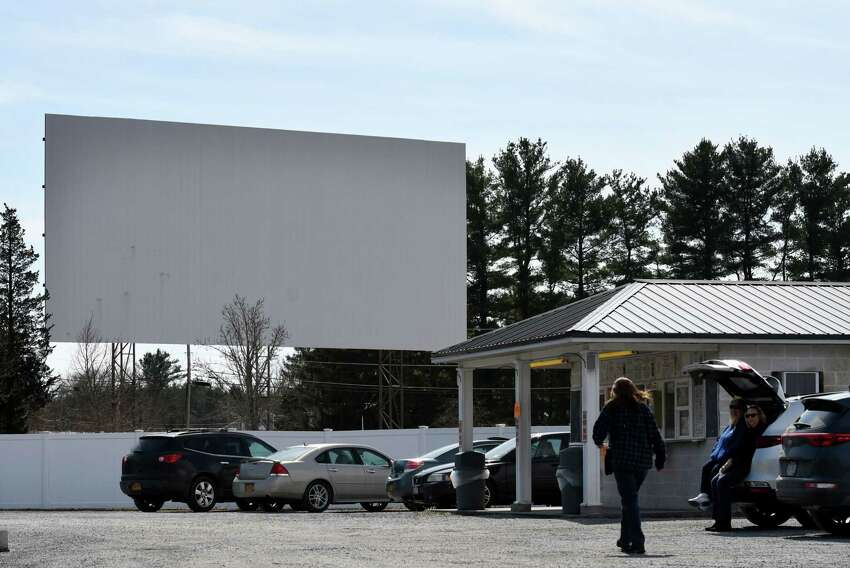 The Jericho Drive-In ice cream stand is open for business on Thursday, March 26, 2020, in Bethlehem, N.Y. The Chenette family has owned Glenmont's Jericho drive-in theater for 26 years but now they are trying to find out if they can once again open next month or even earlier. They've been getting calls from longtime customers who want to go to the movies but can't due to coronavirus. (Will Waldron/Times Union)