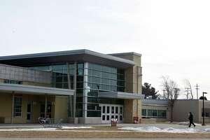 Exterior of Niskayuna High School on Monday, Feb. 11, 2019, in Niskayuna, N.Y. (Will Waldron/Times Union)