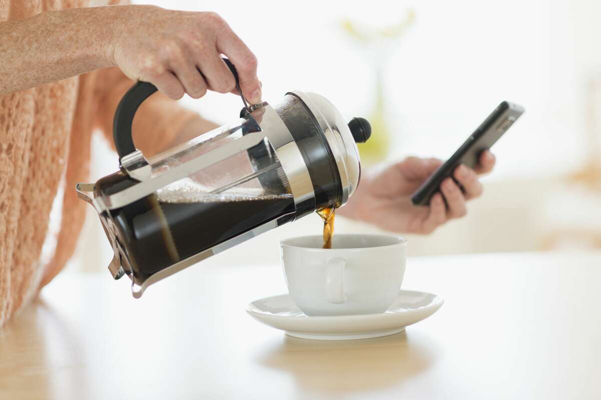 French press coffee is fast, easy and delicious.