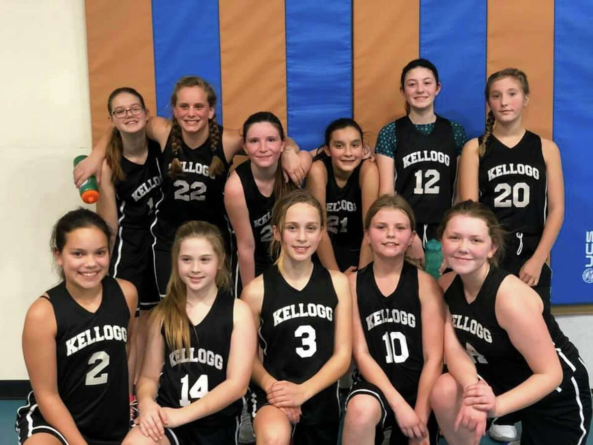 Lee H. Kellogg and Cornwall Consolidated 6th, 7th and 8th grade Girls Basketball team had a successful season.