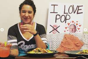 San Antonio native Christina Castro, who lives in Minneapolis, created her own Spurs experience after the game she was supposed to see was postponed due to the coronavirus pandemic.