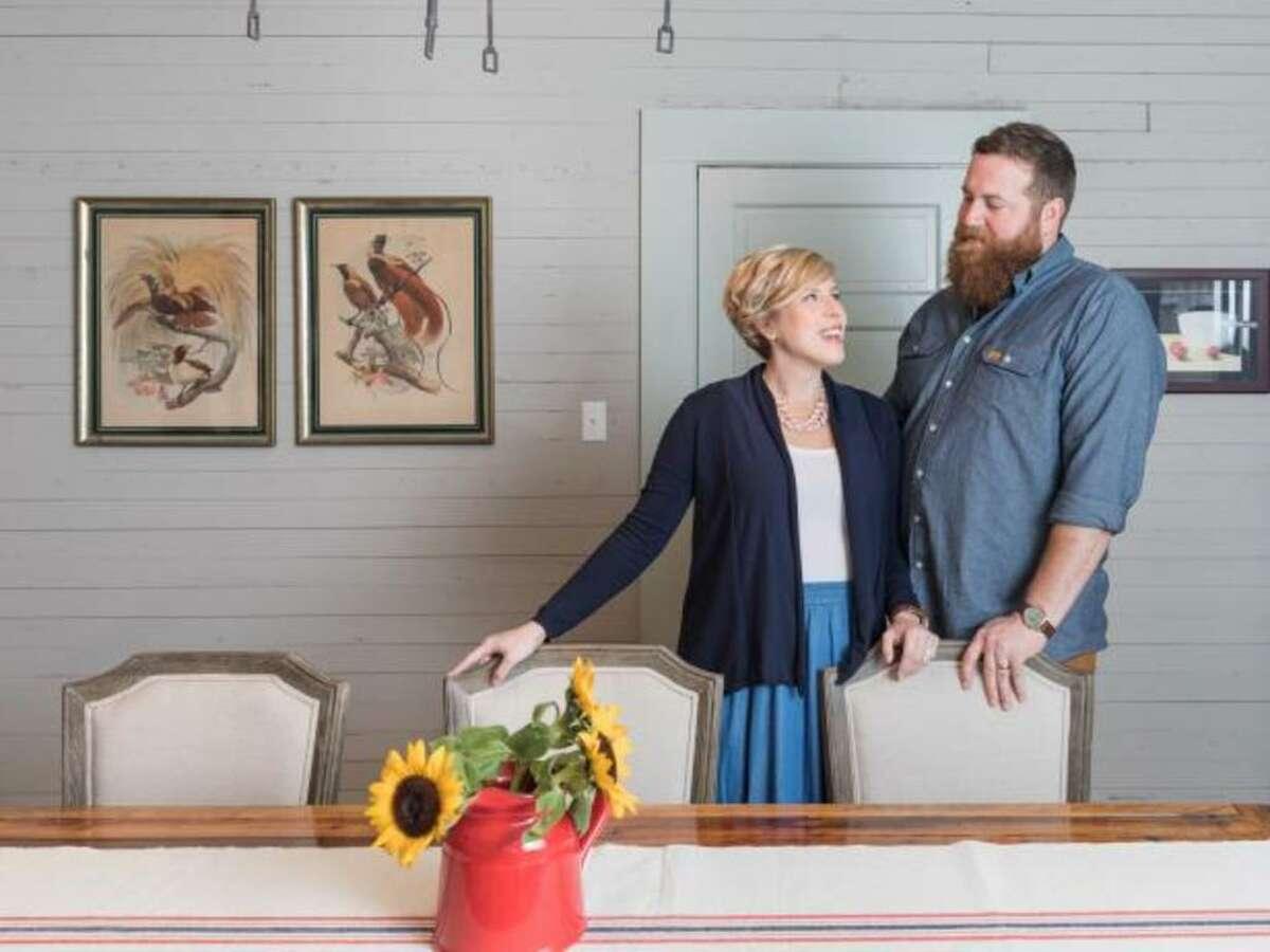 "On ""Home Town,"" Erin and Ben Napier restore homes in Laurel, Miss."