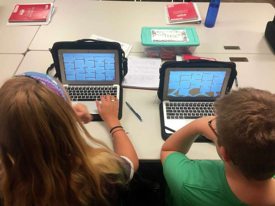 Over the course of the past several years technology has been upgraded at all Manistee County Schools, which should help if area schools are forced to go to to a distance learning scenario for the rest of the school year. (File photo)