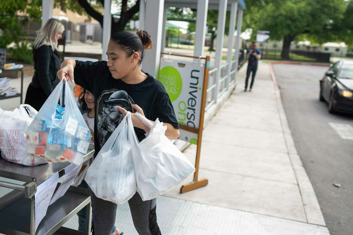 NEISD joins SAISD in local districts distributing meals to children amid Texas' weather-related crisis.