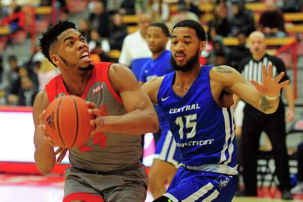 Mens college basketball between Sacred Heart and Central Connecticut in Fairfield, Conn., on Wednesday Jan. 15, 2020.