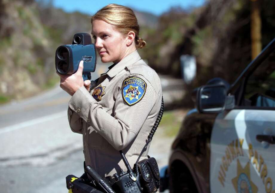 Less traffic on Bay Area freeways has prompted some people to drive at excessive speeds. The California Highway Patrol says it has been citing more drivers than usual for going 100 mph and faster. Photo: California Highway Patrol