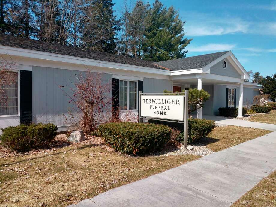 While deemed essential, funeral homes like Terwilliger Funeral Home, are also needing to make small changes to how people can interact during services. One step mandated is allowing a maximum of 50 guests per room. (Courtesy photo/Terwilliger Funeral Home)