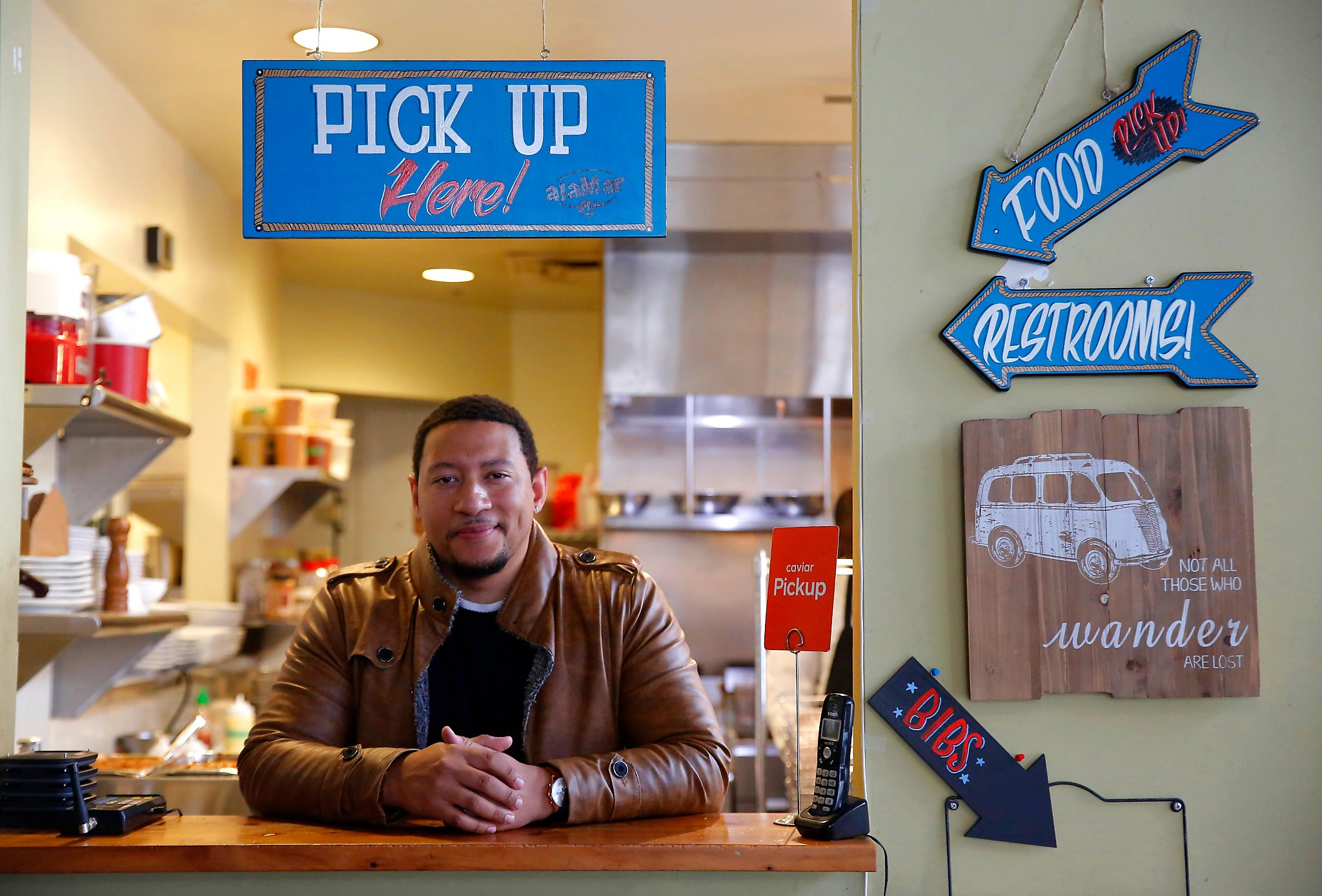 With crush of delivery demand, Bay Area restaurants make space for couriers