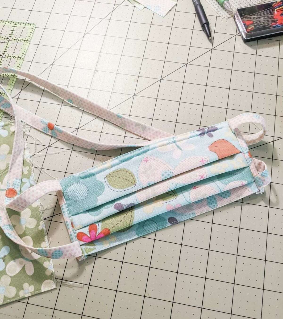 Moriah Chandler, a clinical assistant professor at the UH College of Optometry, has found a way to put her hobby ofsewing and quiltingto good use. Chandler is creating masks for doctors and nurses battling the COVID-19 outbreak.