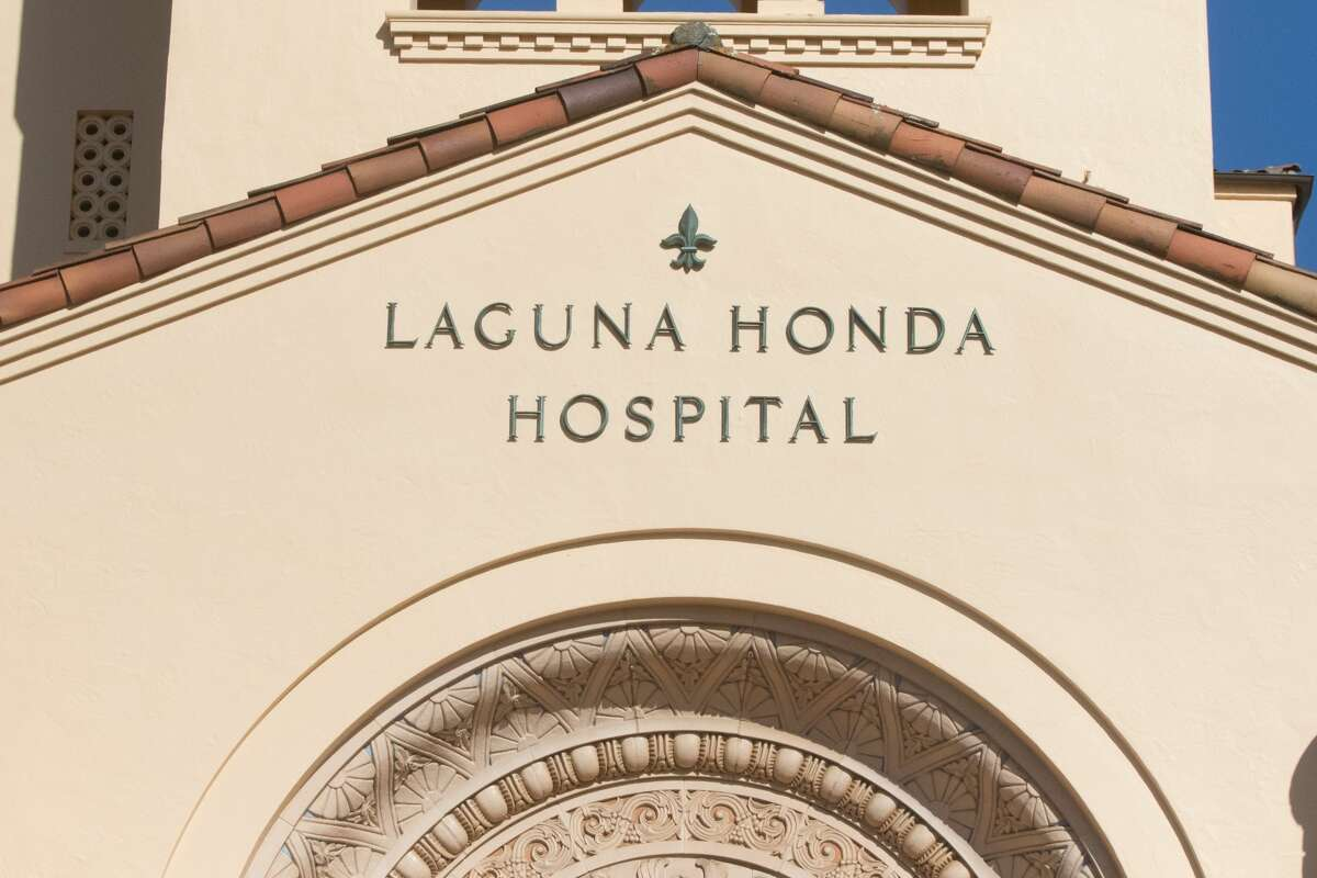 The exterior of Laguna Honda Hospital in San Francisco, Calif. on March 26, 2020.