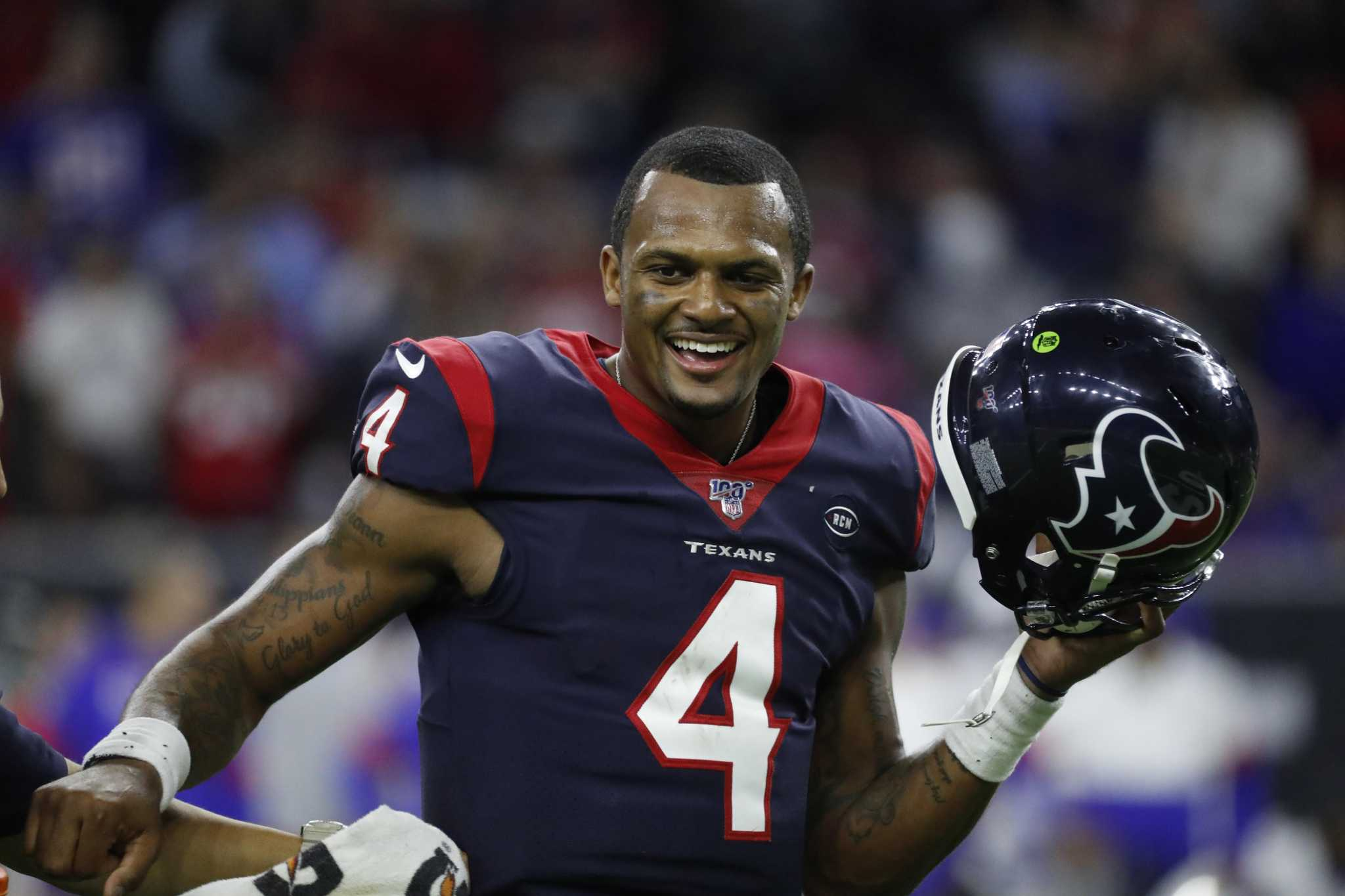 Deshaun Watson 'excited' about new weapons on offense ...