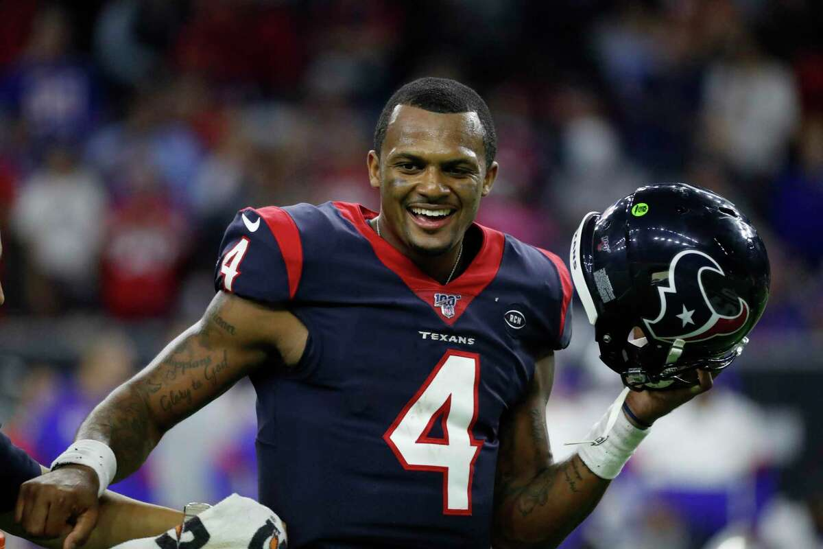 PHOTOS: Flashback to Desean Waton's first day as a Houston Texan Deshaun Watson, celebrating the Texans' win over Buffalo in the playoffs, has been helping feed first responders, nurses and restaurant workers during the coronavirus pandemic.