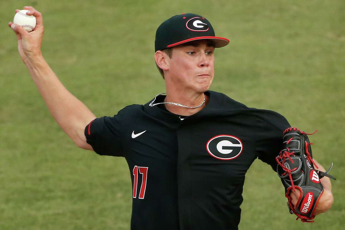 The Seattle Mariners on Wednesday selected right-handed pitcher Emerson Hancock out of the University of Georgia with the sixth overall pick in the 2020 MLB Draft.