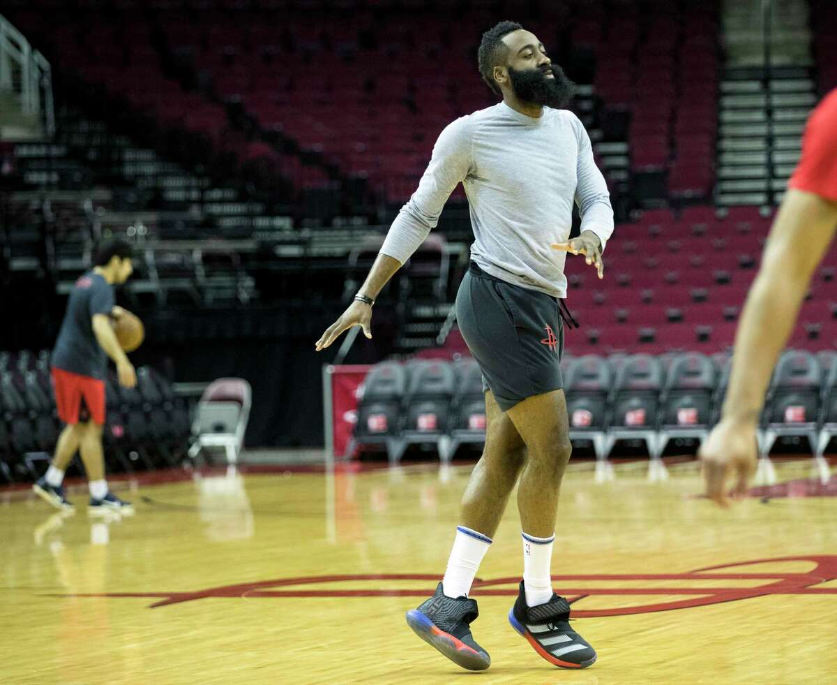 How much time it will take NBA playes like James Harden to get back into basketball shape is one of the unknowns of the league's suspension because of the coronavirus.