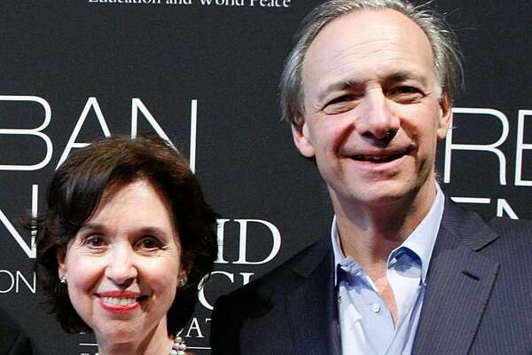 Barbara Dalio and Ray Dalio attend the Operation Warrior Wellness launch at the Urban Zen Center on June 7, 2011 in New York City.
