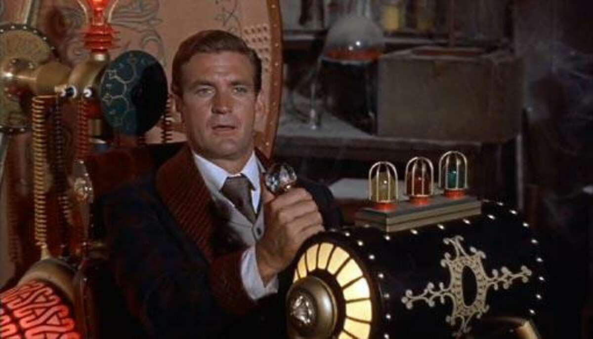 """Rod Taylor in """"The Time Machine"""" (1960)."""