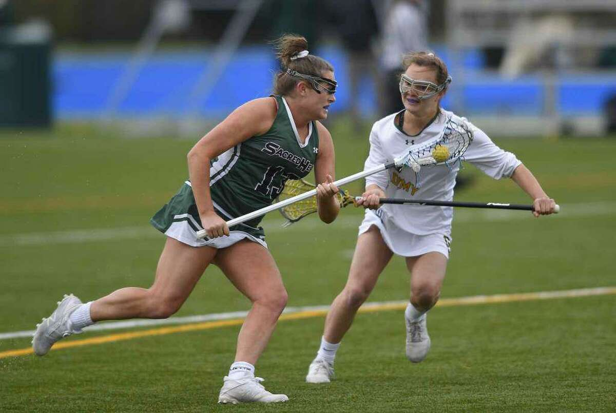 The Sacred Heart Greenwich and Greenwich Academy lacrosse team's spring seasons are on hold, along with the other NEPSAC sports teams, due to the COVID-19 outbreak.