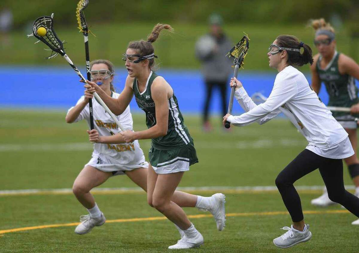 The Greenwich Academy and Sacred Heart Greenwich lacrosse team's spring seasons are on hold, along with the other NEPSAC sports teams, due to the COVID-19 outbreak.