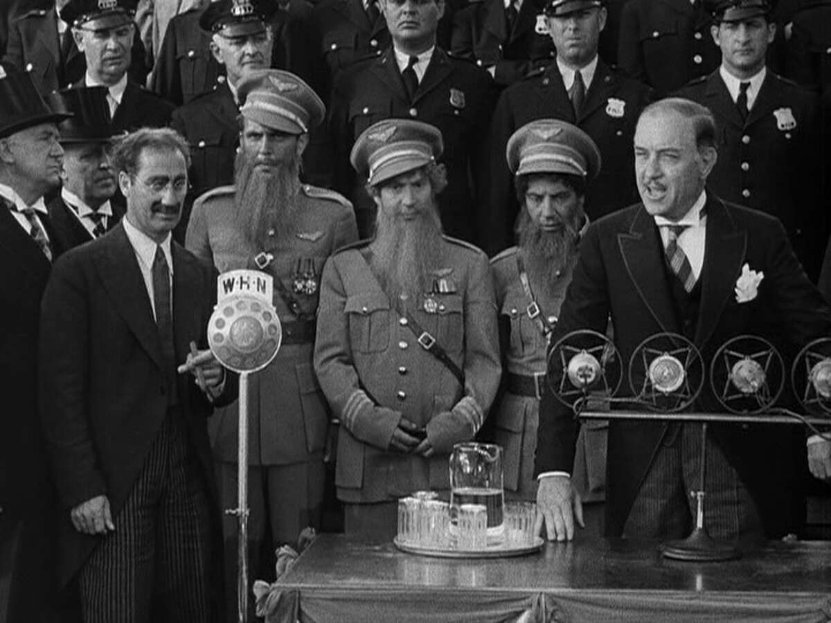Any Marx Brothers movie should make you feel better.