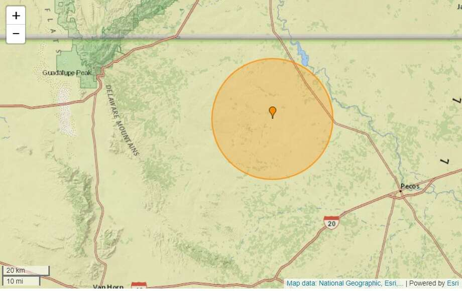 A 3.7-magnitude quake, at a depth of 3.1 miles and 27 miles west of Mentone – occurred at 4:36 p.m., Friday, March 28. Photo: Earthquaketrack.com