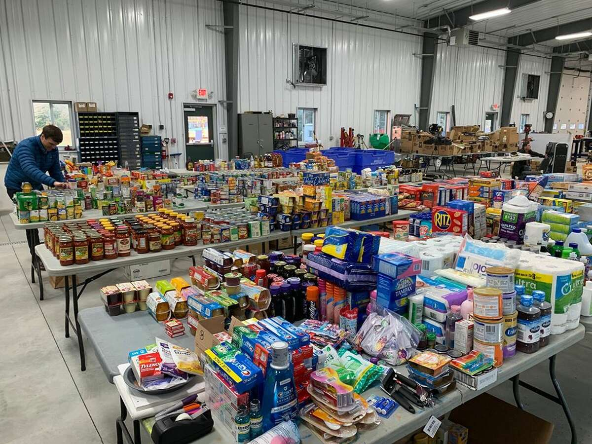 The town of Clifton Park continues to deliver donations received as part of their Drive Up, Drop Off campaign for CAPTAIN Community Health Services. (Town of Clifton Park)