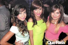 Shari Ovalle, Ashley Cantu and Liz Sanchez at Agave Azul 2012