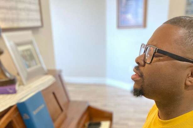 Albert Hall, music and youth minister at First Baptist Church in Stanton, is in self-quarantine after a trip to Spain. During this time, he is worshipping live on Facebook.