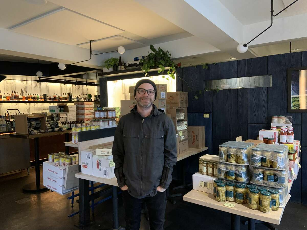 Anthony Strong has converted his restaurant Prairie in San Francisco's Mission District into a general store.