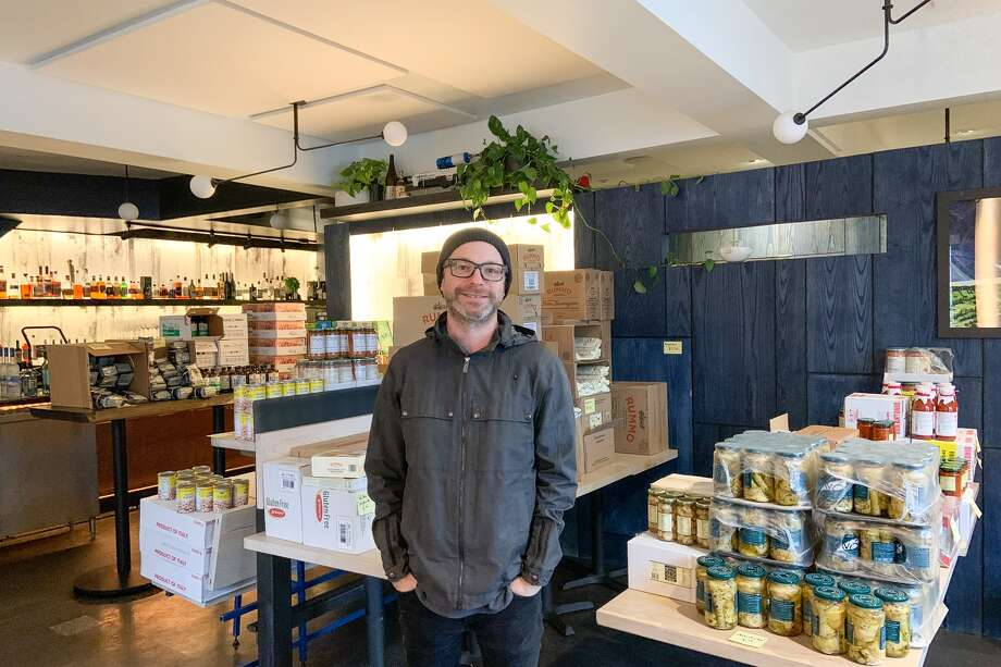On 19th Street near Mission, Prairie General Store is open Monday through Friday, 10 a.m. to 7 p.m. and soon customers will be able to make reservations. Photo: Amy Graff / SFGate