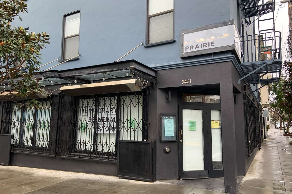 Prairie, a restaurant on 19th Street near Mission that transformed into a general store during the pandemic, will close permanently on Friday.