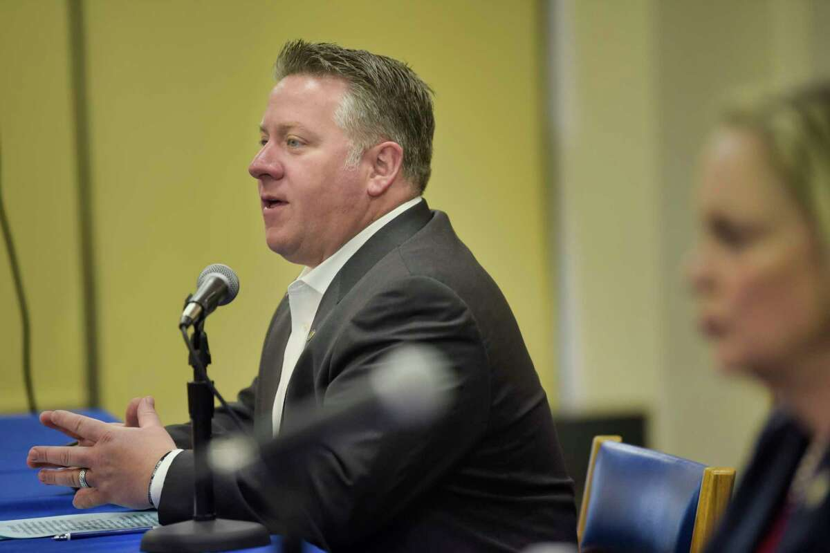Albany County Executive Dan McCoy. (Paul Buckowski/Times Union)