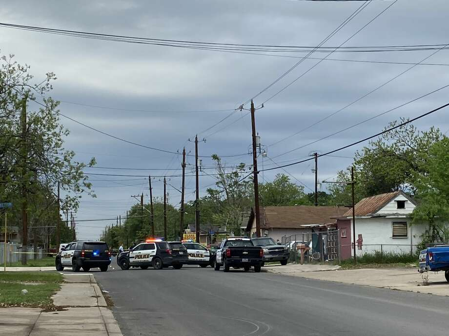 Two people were shot on the East Side, police said.  Photo: Ashley McBride